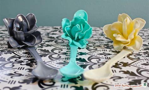 plastic spoon roses diy recycled plastic spoon roses diy recycled craft favecrafts