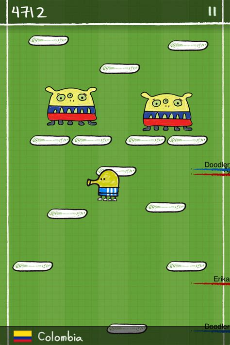 doodle jump player 2 similar to angry birds for pc and phone like