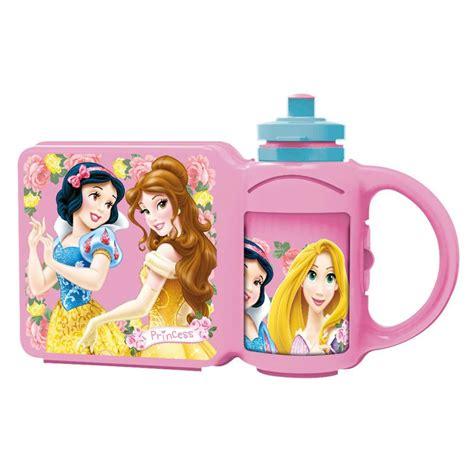 Lunch Box Set Disney Princess disney princess lunch box drinks bottle combo set 59272