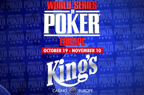 Mba World Series 2017 Prize Pool by Wsop Europe High Roller Features 10 Million Guaranteed