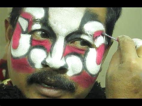 tutorial makeup tari tutorial buto raksasa cara tata rias tari jawa