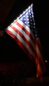 flag solar light solar light flagpole and american flag