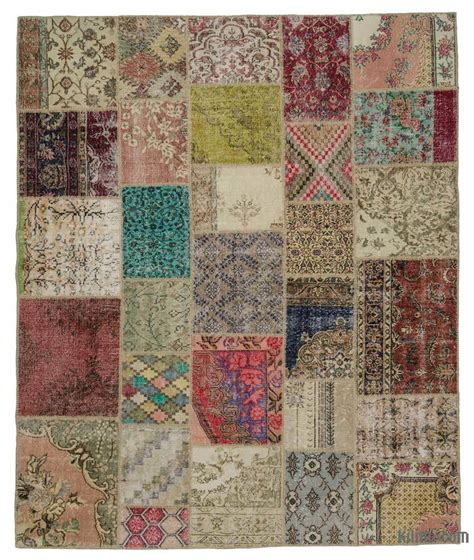 Turkish Patchwork Rug - k0021094 multicolor turkish patchwork rug kilim rugs