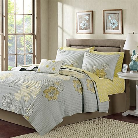 yellow coverlet king buy madison park avalon california king coverlet set in