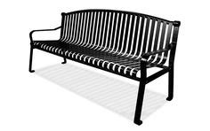 belson outdoors benches model r6nb p 6 thermoplastic coated backless bench