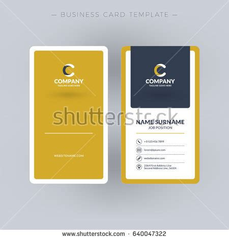 free blank vertical business card template vertical stock images royalty free images vectors