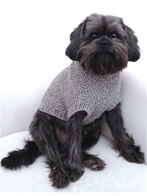 dog jumper pattern knitting dog jumper knitting pattern in aran knitting wool yarn