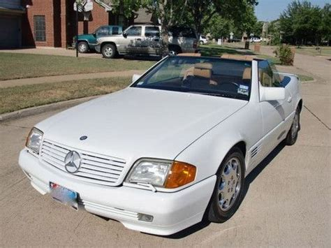 automobile air conditioning repair 1990 mercedes benz sl class free book repair manuals sell used 1990 mercedes 500 sl convertible in flower mound texas united states