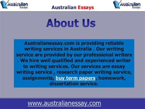 Custom Essay Writing Australia by Australian Essay Writing 187 Order Custom Essay