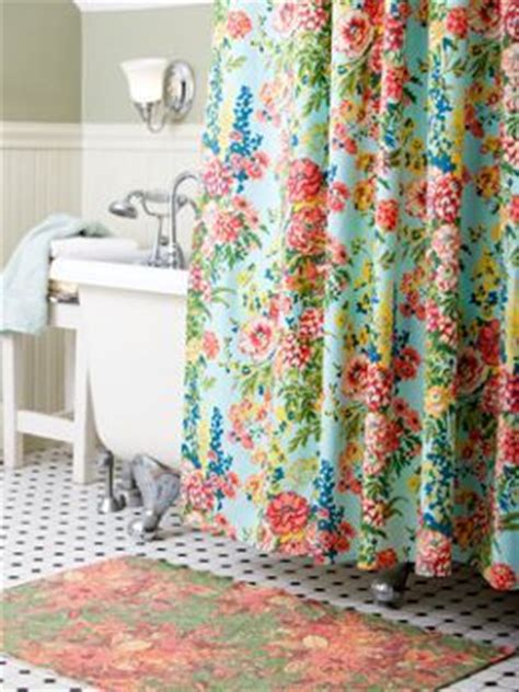 vermont country curtains cotton shower curtain from april cornell with floral