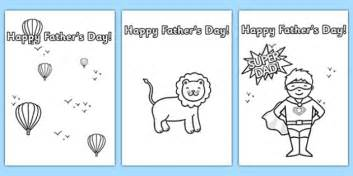 Fathers Day Template by S Day Card Template Colouring Design S Day
