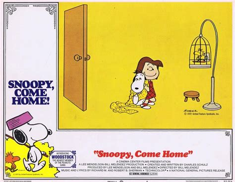 snoopy come home peanuts