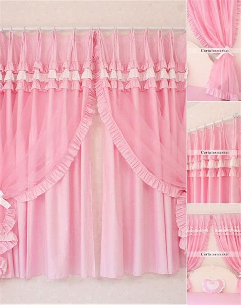 pink lace curtains lace curtain panels french curtain home decorating ideas
