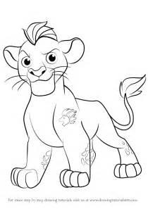 learn draw kion lion guard lion guard step step drawing tutorials