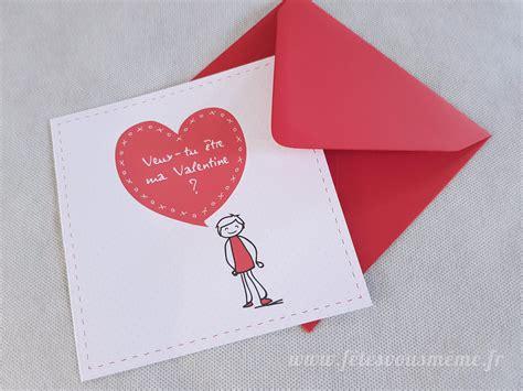 Carte Valentin by Carte Valentin Quot Be My Valentin E Quot Boutique F 234 Tes