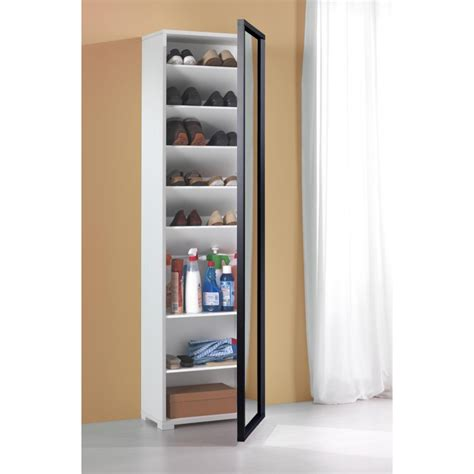 colonna armadio armadio per scarpiera a colonna milleusi con specchio