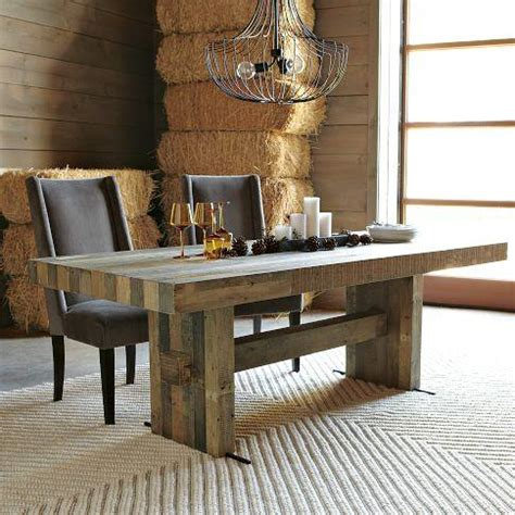 rustic modern kitchen table emmerson dining table west elm