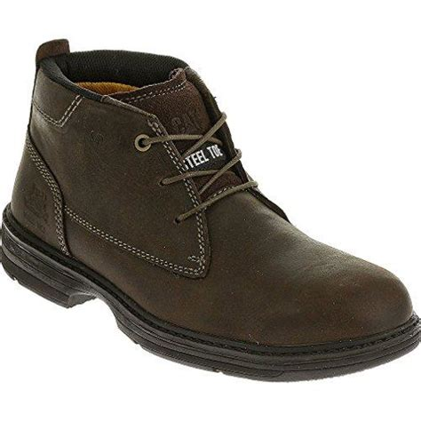 Sepatu Boots Caterpillar Bishop Steel Toe Brown Safety Ujung Besi jual sepatu safety caterpillar inherit mid st brown original sepatu caterpillar