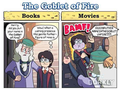 libro the art of harry 6 ways the harry potter movies are different from the books dorkly post