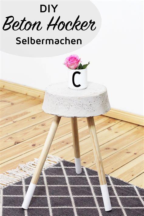 Hocker Selber Bauen by Diy Beton Hocker Zum Selber Bauen Stylisches Wohn Accessoire