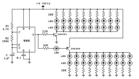 Lu Led Sepeda Motor rangkaian lu led sepeda motor 2x20