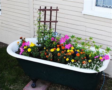 ive  wanted bathtub  flowers   garden tub