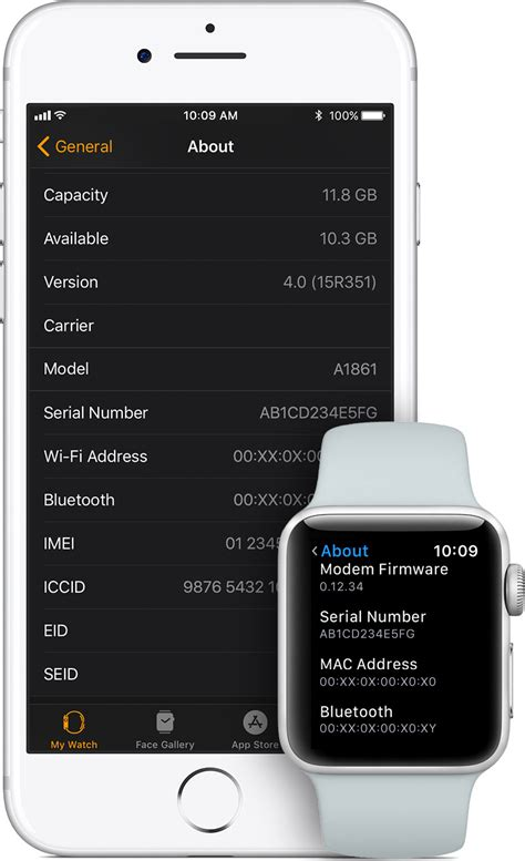 apple imei how to find the serial number or imei for your apple watch