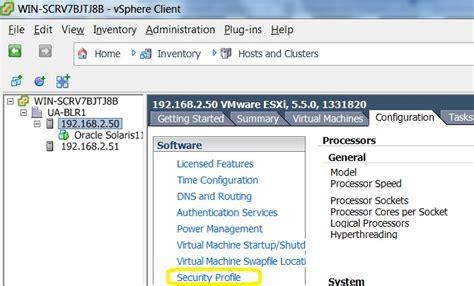 vmware esxi console configuring vmware esxi machine console vnc