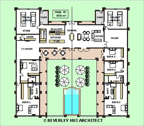 28 h shaped house floor plans h shaped house plans h shaped house plans with pool in the middle pg3