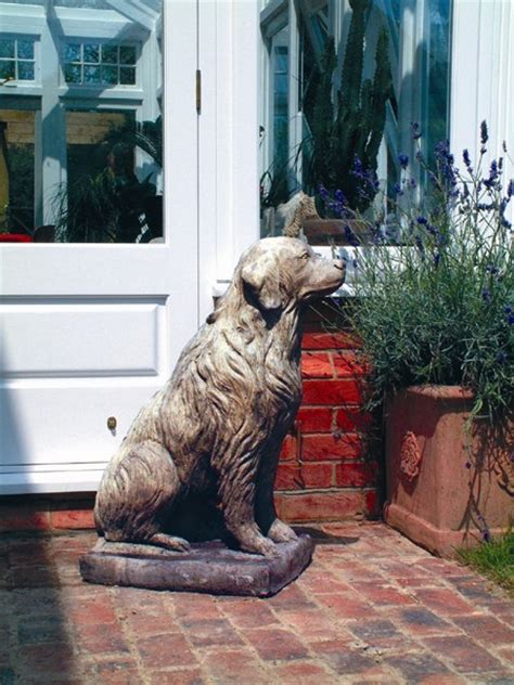 golden retriever garden golden retriever garden planters shop