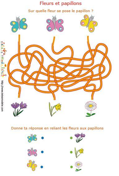 Jeux De Fil by Jeu Gratuit De Printemps Fils M 234 L 233 S Fleurs Et