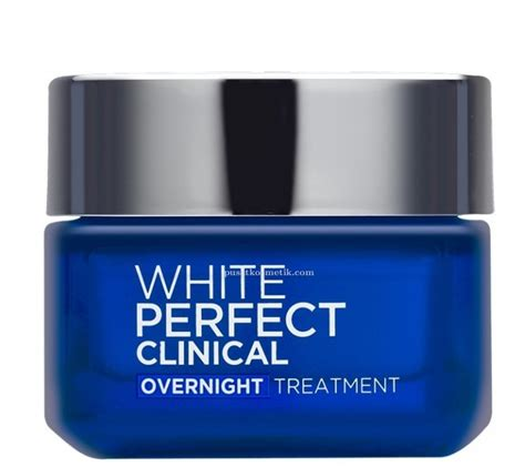 l oreal white clinical overnight treatment