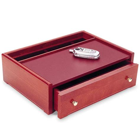 mens cherry dresser valet in jewelry boxes and organizers