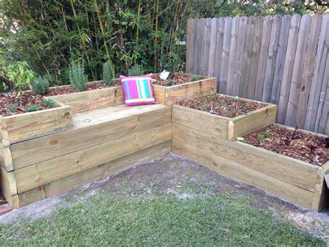 raised flower beds diy rasied garden bed vegetable and herb garden built in