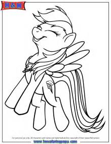 free coloring pages of my little pony rainbow dash