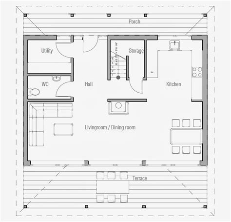 Australian House Plans Small Australian House Plan Ch187 Open Floor Plans Cheap Build