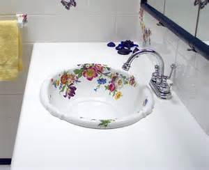 floral bathroom sinks floral bathroom sinks 28 images painted bathroom sinks with floral design home