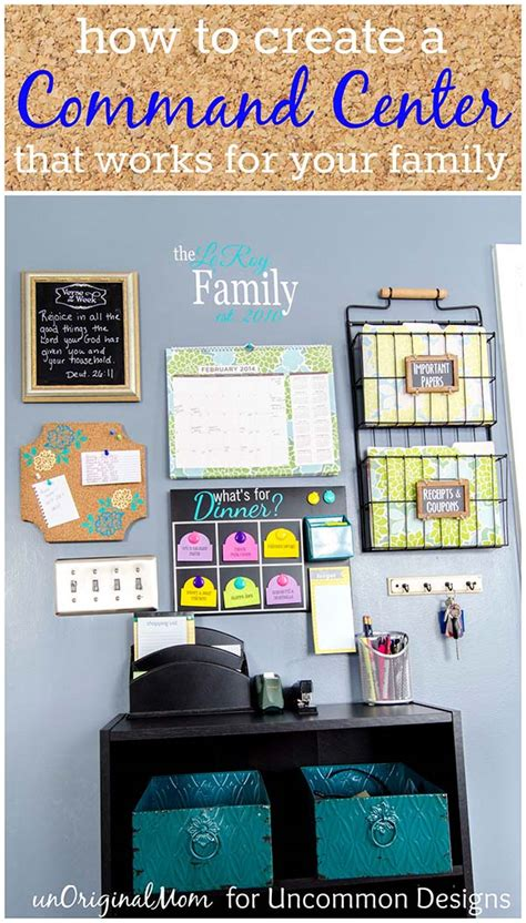 how to your commands how to create a command center that works for your family uncommon designs