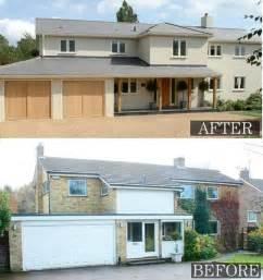 70s House Remodel Before And After by More Exterior Remodelling Home And Design Pinterest