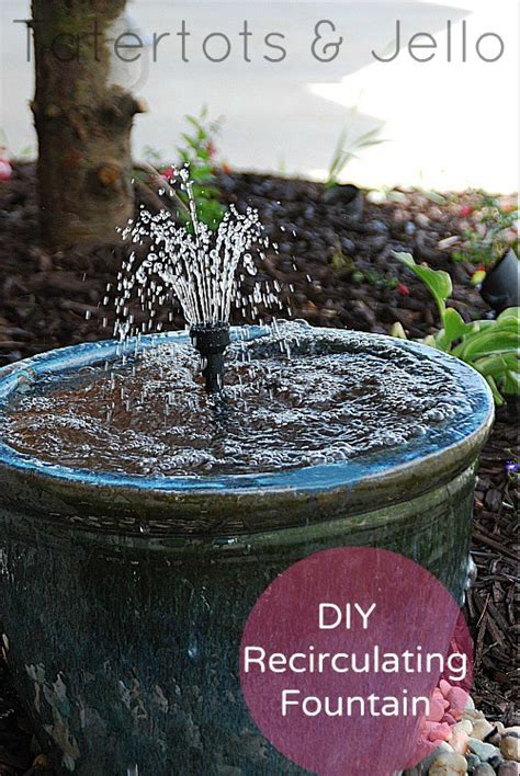 diy backyard fountain craftionary