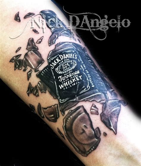 jack daniels tattoo designs 50 coolest 3d designs echomon