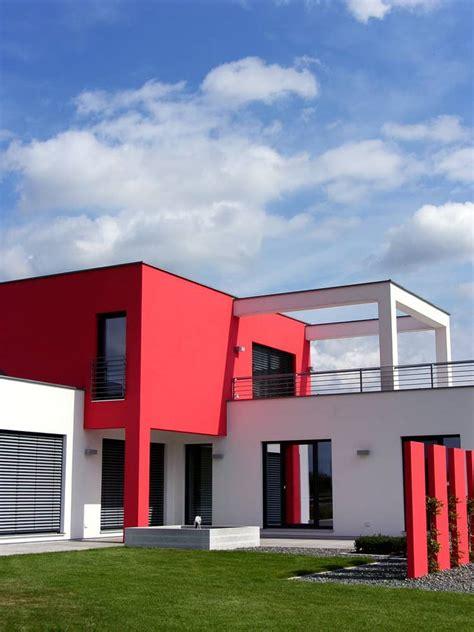 nice red houses