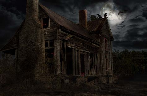 design a haunted house photoshop submission for haunted houses contest design 8882602