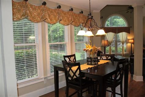 curtains for dining room windows window treatment ideas home pinterest house tours