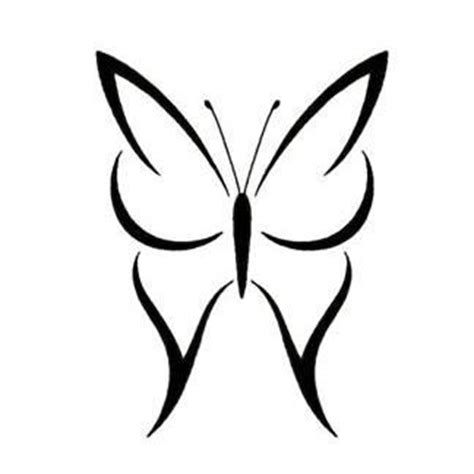simple tattoo exles simple butterfly tattoos google search coloring