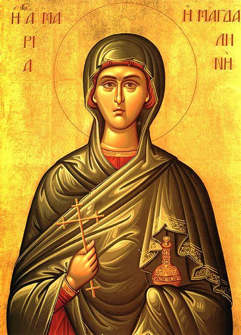 orthodox st myrrhbearer and equal of the apostles magdalene