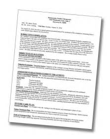 Medical Narrative Report Template soap sample picture 400x503 png