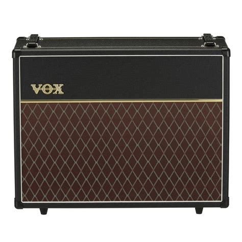 vox ac v212c custom 2x12 speaker cabinet at gear4music