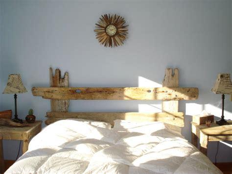 25 best ideas about driftwood headboard on