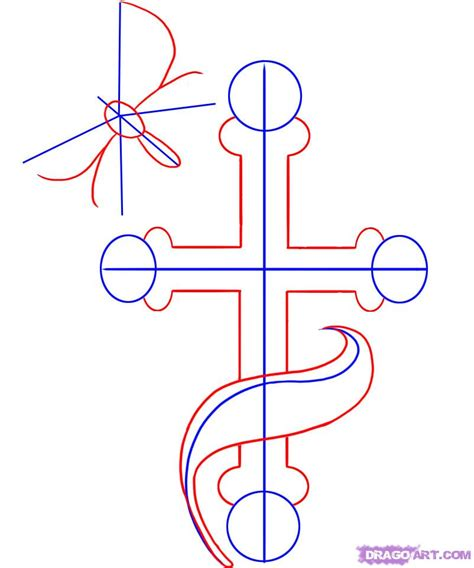 doodle how to make religion religious crosses drawings www pixshark images
